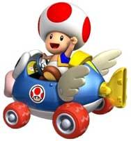 Mario Kart Wii - Toad